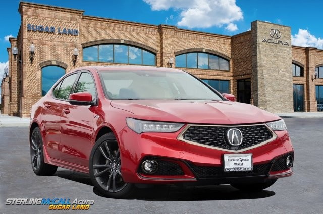 New 2020 Acura Tlx V 6 With A Spec Package 4dr Car In Sugar Land