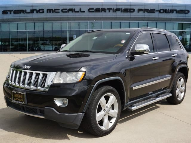 2013 Jeep Grand Cherokee Overland >> Pre Owned 2013 Jeep Grand Cherokee Overland