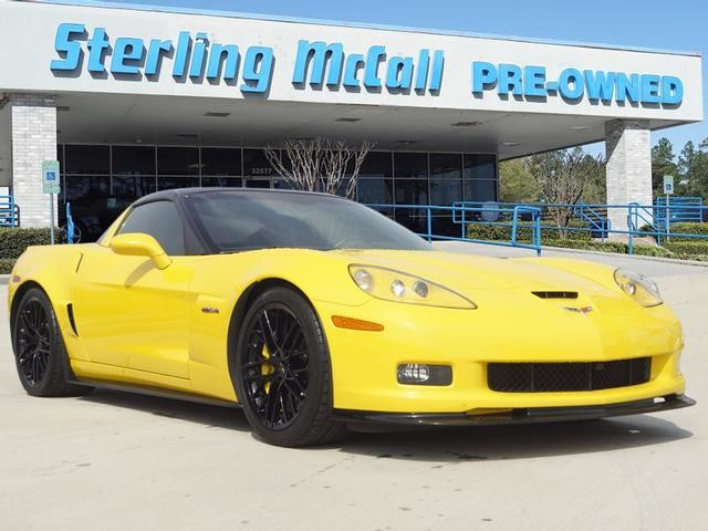 Pre-Owned 2011 Chevrolet Corvette Z06 w/3LZ w/ ZR1 PACKAGE