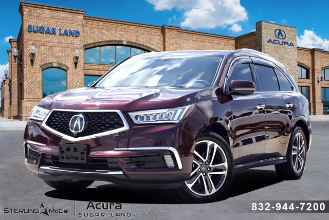 Pre-Owned 2017 Acura MDX w/Advance/Entertainment Pkg
