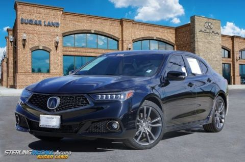 Pre-Owned 2018 Acura TLX w/A-SPEC Pkg