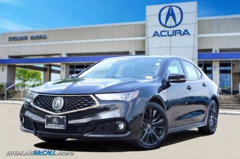 Pre-Owned 2018 Acura TLX SH-AWD w/A-SPEC Pkg PREMIUM LEATHER ALCANTARA SEATS, NAVIGATION, SUNROOF
