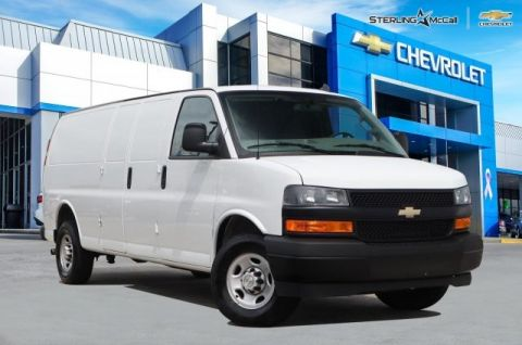 Pre-Owned 2019 Chevrolet Express Cargo Van EXT 2500HD....