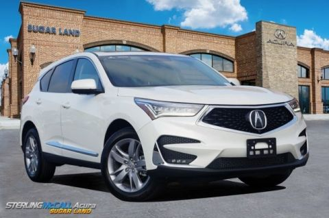 Certified Pre-Owned 2019 Acura RDX SH-AWD with Advance Package