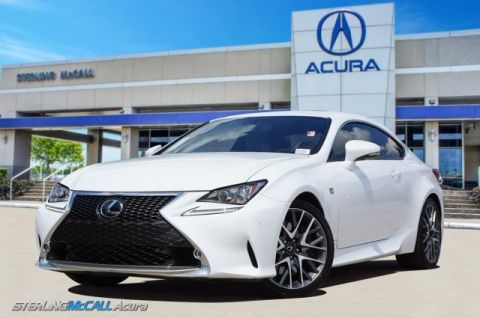 Pre-Owned 2016 Lexus RC 350 RC350 F SPORT NAVI SUNROOF HEATED COOLED LEATHER LOW MILES
