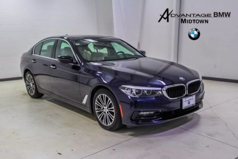 Pre-Owned 2018 BMW 5 Series 530i RWD CERTIFIED SPORT PREMIUM